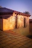 Czerwoni dachówkowi dachy w Włochy Zdjęcie Royalty Free