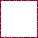 Czerwoni gerberas jak granicę z bezpłatną przestrzenią Fotografia Stock