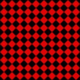 Czerwoni i czarni diamenty royalty ilustracja