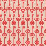 Czerwoni klucze Obraz Royalty Free