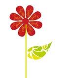 Czerwoni kwiaty Fotografia Stock