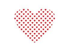 Czerwoni miłość valentines dni Obraz Royalty Free