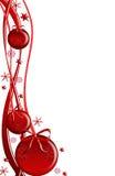 czerwoni piłek boże narodzenia Fotografia Royalty Free