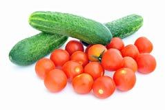 czerwoni pomidory Zdjęcie Royalty Free