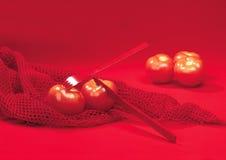 czerwoni pomidory Fotografia Royalty Free