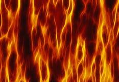 Czerwoni płomienia ogienia tekstury tła Fotografia Royalty Free