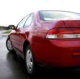 Czerwoni samochodów szczegóły Obrazy Royalty Free