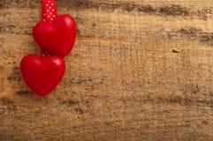 Czerwoni serca zdjęcie royalty free