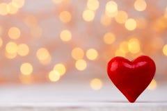 Czerwoni serca bokeh tło dodać dni walentynki tła formatu wektora Obrazy Royalty Free