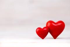 Czerwoni serca bokeh tło dodać dni walentynki tła formatu wektora Zdjęcia Stock