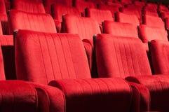 Czerwoni siedzenia Obrazy Royalty Free