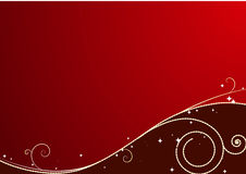 czerwoni tło boże narodzenia royalty ilustracja