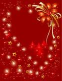 czerwoni tło boże narodzenia Fotografia Royalty Free