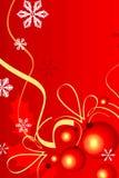 czerwoni tło cristmas Zdjęcie Stock