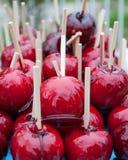 Szczerzy jabłka Zdjęcie Royalty Free