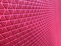 Czerwoni trójboki kształtują bezszwowego, abstrakt na czerwieni zdjęcie stock