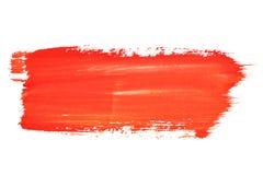 czerwoni uderzenia Obrazy Royalty Free