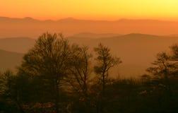 Czerwoni wzgórza Fotografia Royalty Free
