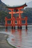 czerwono torii bramę Zdjęcie Royalty Free