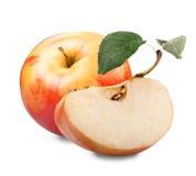 Czerwony Żółty Apple zdjęcia stock
