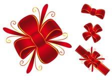 Czerwony łęk Obrazy Royalty Free