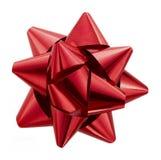 Czerwony łęk zdjęcie royalty free