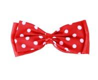 Czerwony łęku krawat Obraz Royalty Free