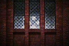 Czerwony ściana z cegieł Obrazy Royalty Free