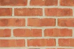 Czerwony ściana z cegieł Zdjęcia Royalty Free