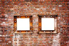 Czerwony ściana z cegieł Fotografia Stock