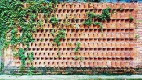 Czerwony ściana z cegieł Obrazy Stock