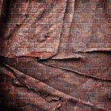 Czerwony ściana z cegieł zdjęcie stock