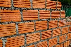 Czerwony ściana z cegieł Fotografia Royalty Free