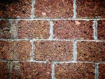 Czerwony ściana z cegieł Obraz Stock