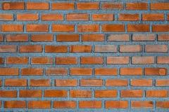 Czerwony ściana z cegieł czerepu tło lub ceglanej warstwy budynku textu obrazy stock