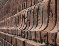 Czerwony ściana z cegieł formierstwo Obrazy Stock
