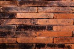 Czerwony ściana z cegieł, ideał dla tła obraz stock
