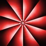 czerwony śmigłowa Obraz Stock