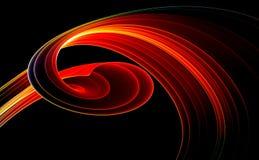 czerwony 3 d tła Zdjęcie Stock