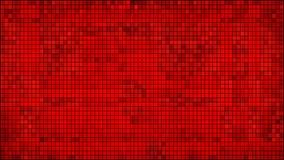 Czerwony abstrakcjonistyczny mozaiki tło Fotografia Royalty Free