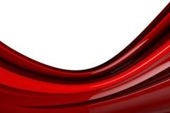 Czerwony abstrakcjonistyczny tło Fotografia Royalty Free