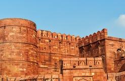 Czerwony Agra fort Zdjęcia Royalty Free