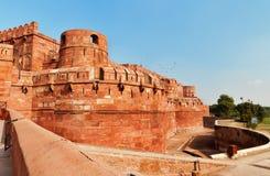 Czerwony Agra fort Fotografia Royalty Free