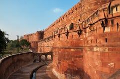 Czerwony Agra fort Obraz Royalty Free