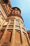 Czerwony Agra fort Obraz Stock