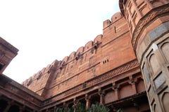 Czerwony Agra fort w Agra, India Zdjęcie Stock