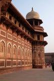 Czerwony Agra fort w Agra, India Zdjęcia Royalty Free