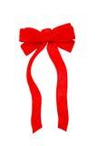 czerwony aksamit łuk Zdjęcia Royalty Free