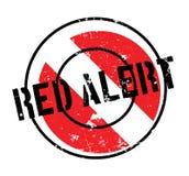 Czerwony Alarm pieczątka Zdjęcie Royalty Free