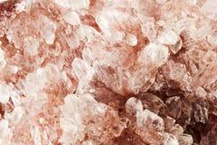 Czerwony ametystowy kopaliny skały zakończenie up Fotografia Royalty Free